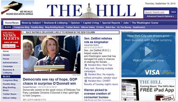 the hill сайт газеты на джумле