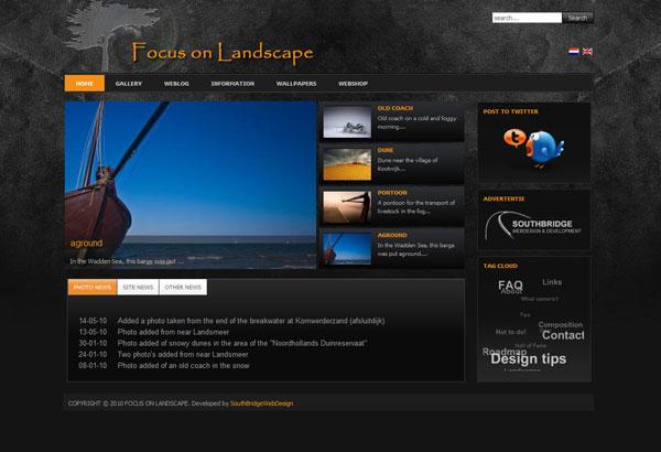 Отличный сайт на Joomla 1.5, об фотографиях