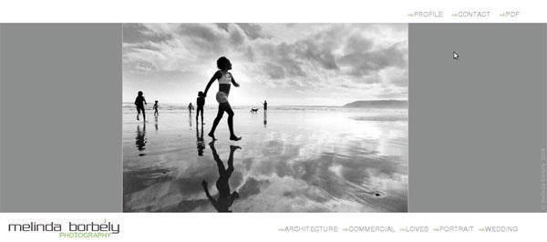 Сайт на Joomla 1.5, фотографа Melinda Borbely