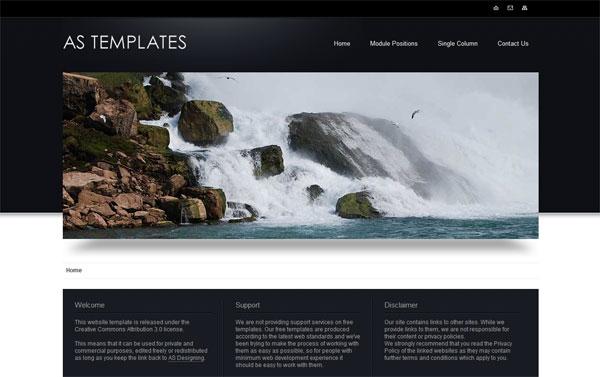 Корпоративный шаблон для Joomla 1.6 от AS Templates