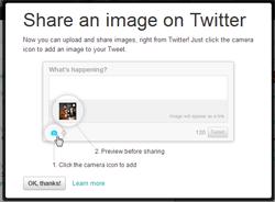 Теперь в Twitter можно загружать изображения