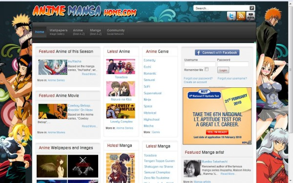 индийский сайт про аниме