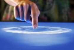 Сенсорный экран для пальцев в перчатках