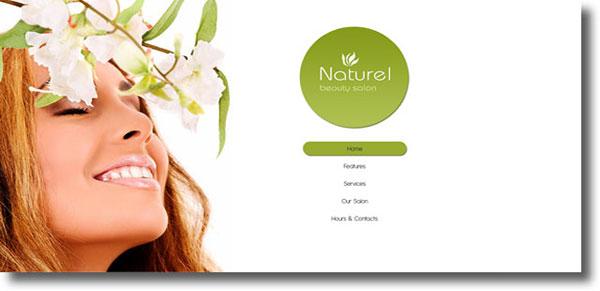 Светлый женский шаблон для Joomla 2.5 - Naturel