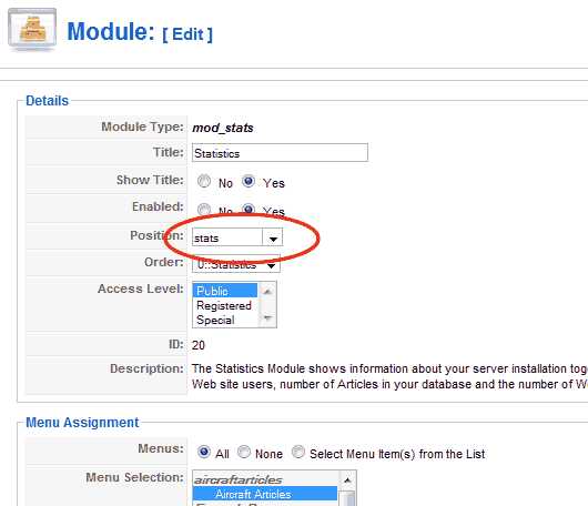 Как вставить модуль в статью
