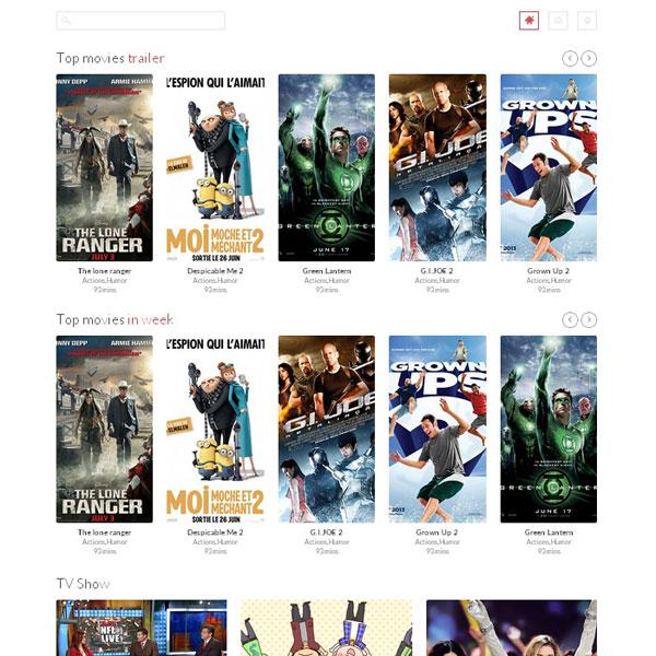 Пятничный шаблон #1: ST Movie - мультимедийный адаптивный шаблон для Joomla 3